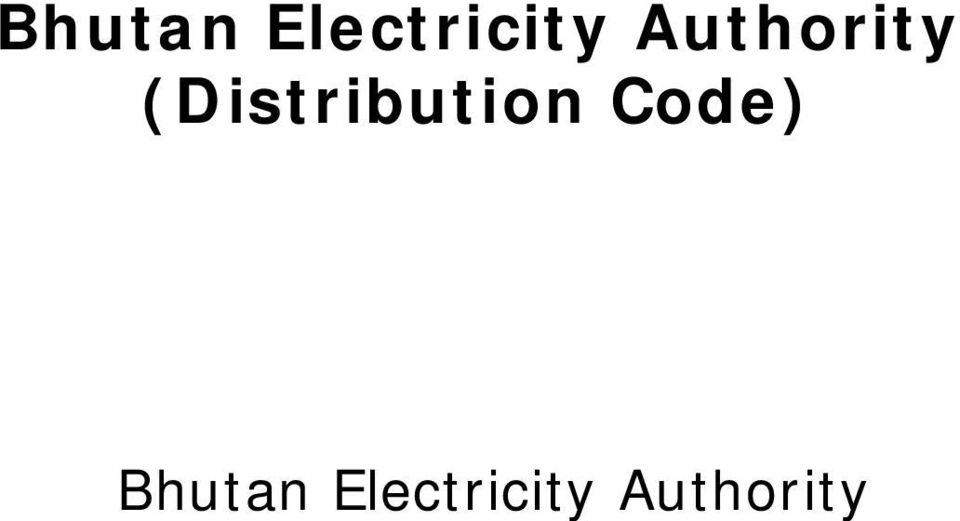 (Distribution Code)