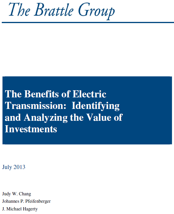 Background: Transmission Benefits and Planning http://wiresgroup.com/docs/reports/wires%20brattl e%20rpt_transplanning_042315.pdf http://wiresgroup.