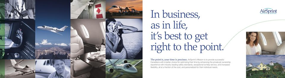 enhancing the private jet ownership experience with industry leading safety standards, exceptional