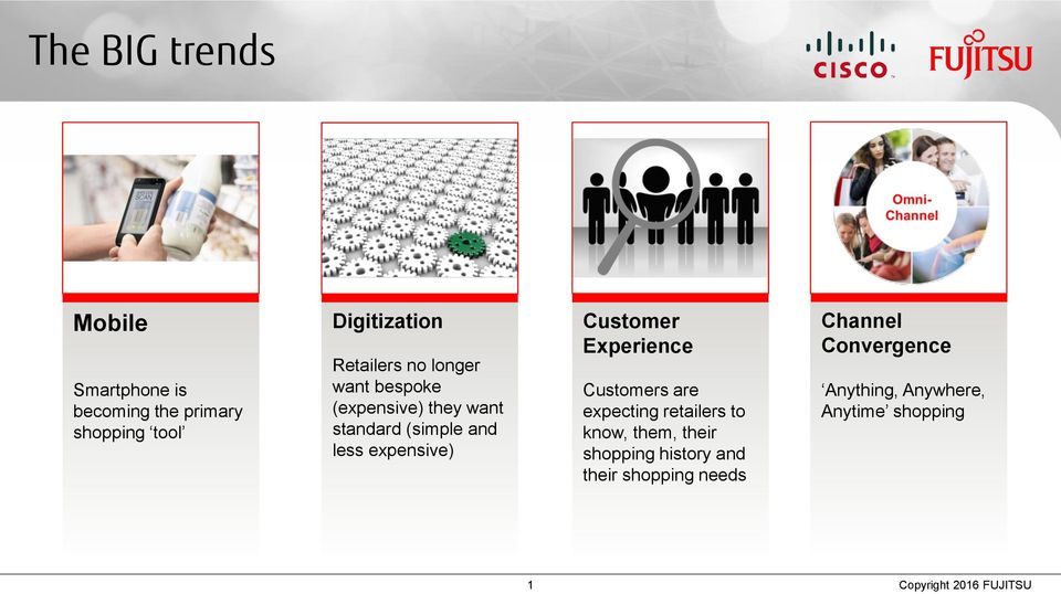 Experience Customers are expecting retailers to know, them, their shopping history and their