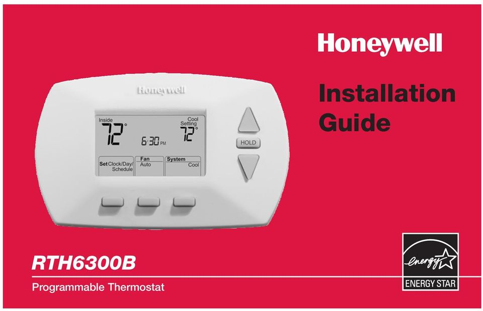 Installation guide rth6300b programmable thermostat pdf 2 mercury notice do not place your old thermostat in the trash if it contains mercury in a sealed tube contact your local waste management authority for cheapraybanclubmaster Image collections