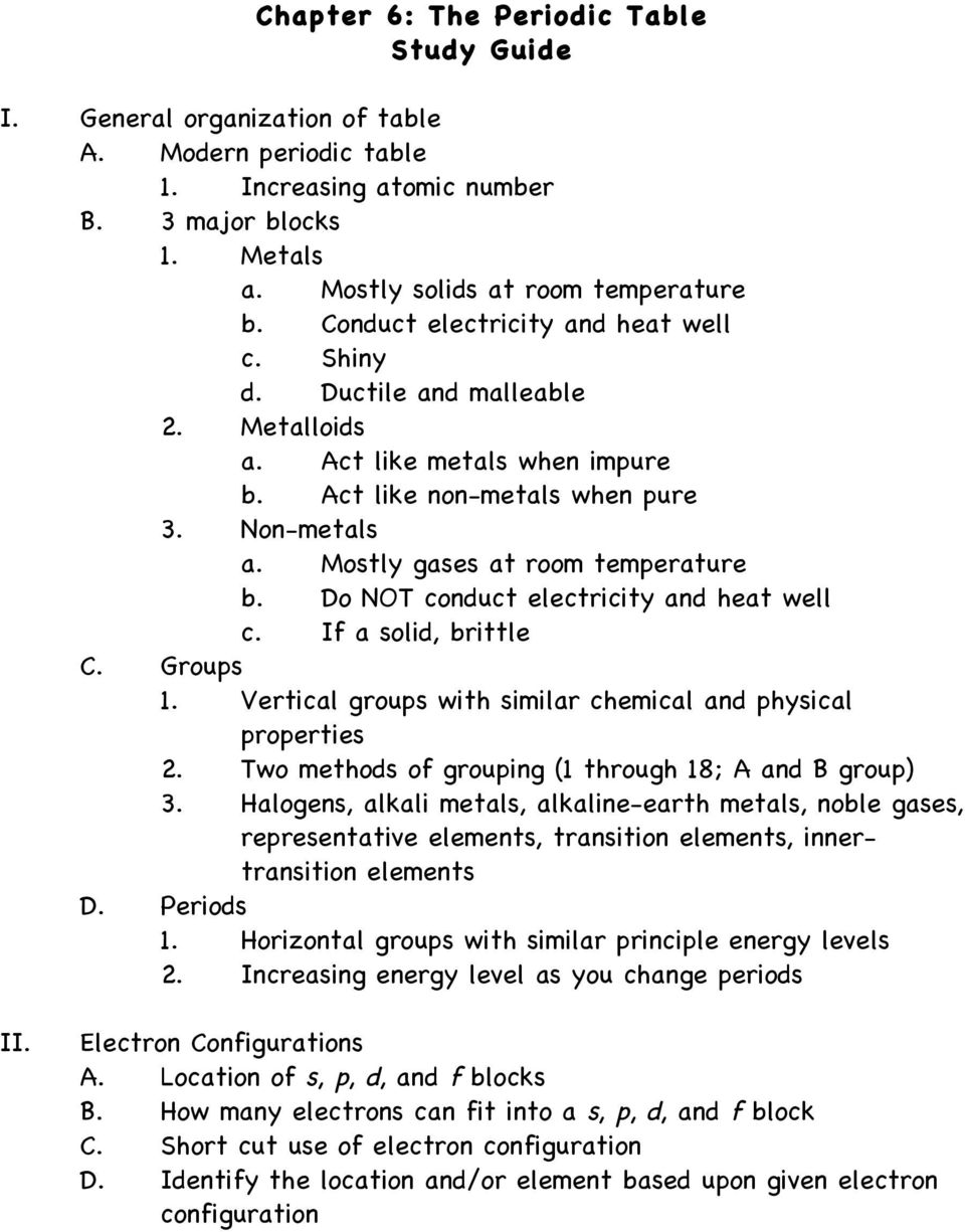 Electron configuration worksheet 13