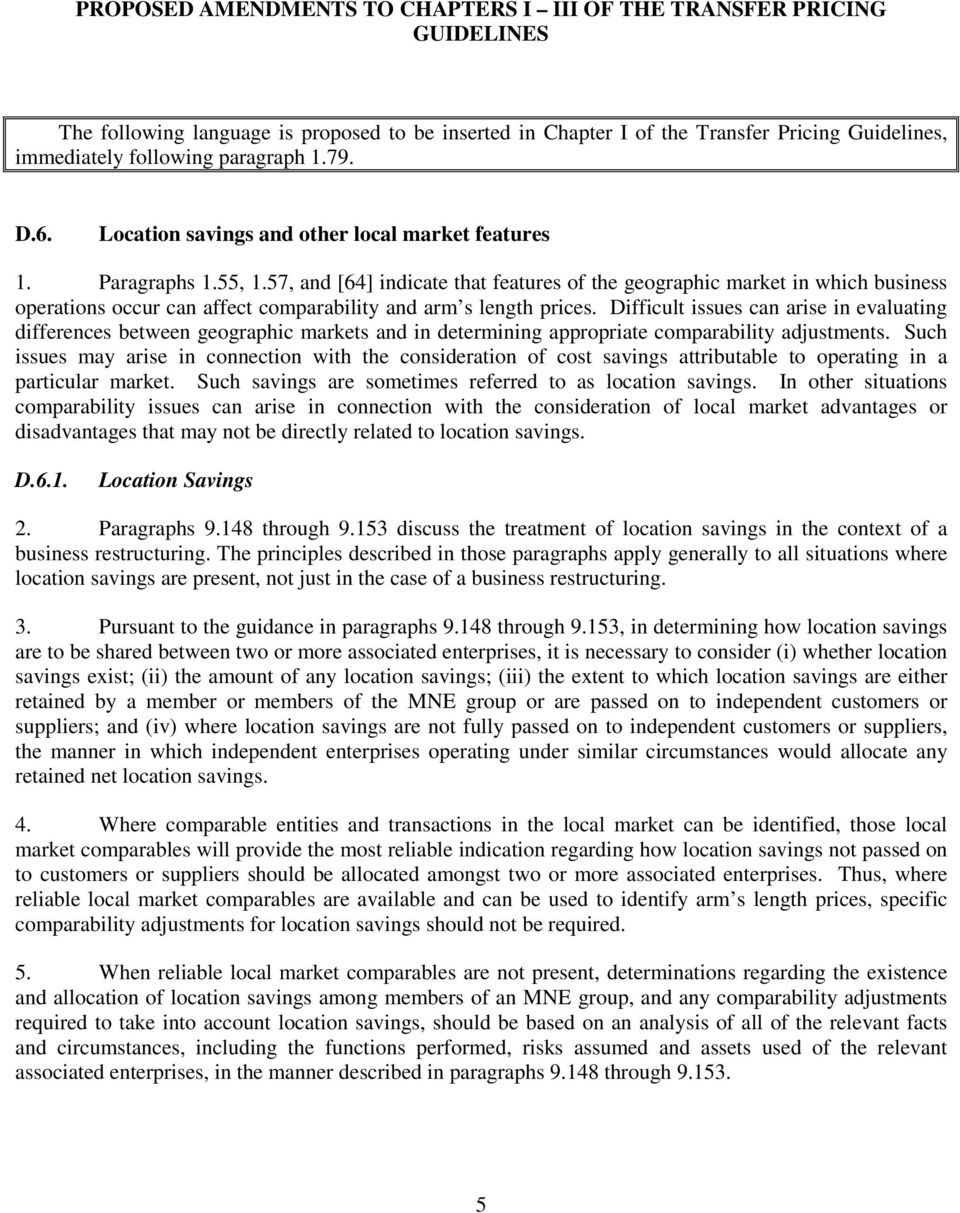 concept of transfer pricing with examples pdf