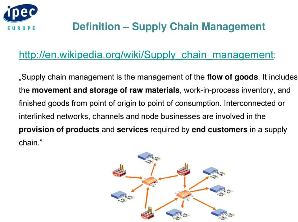 Supply Chain Secrurity and Good Distribution Practice: Essential for