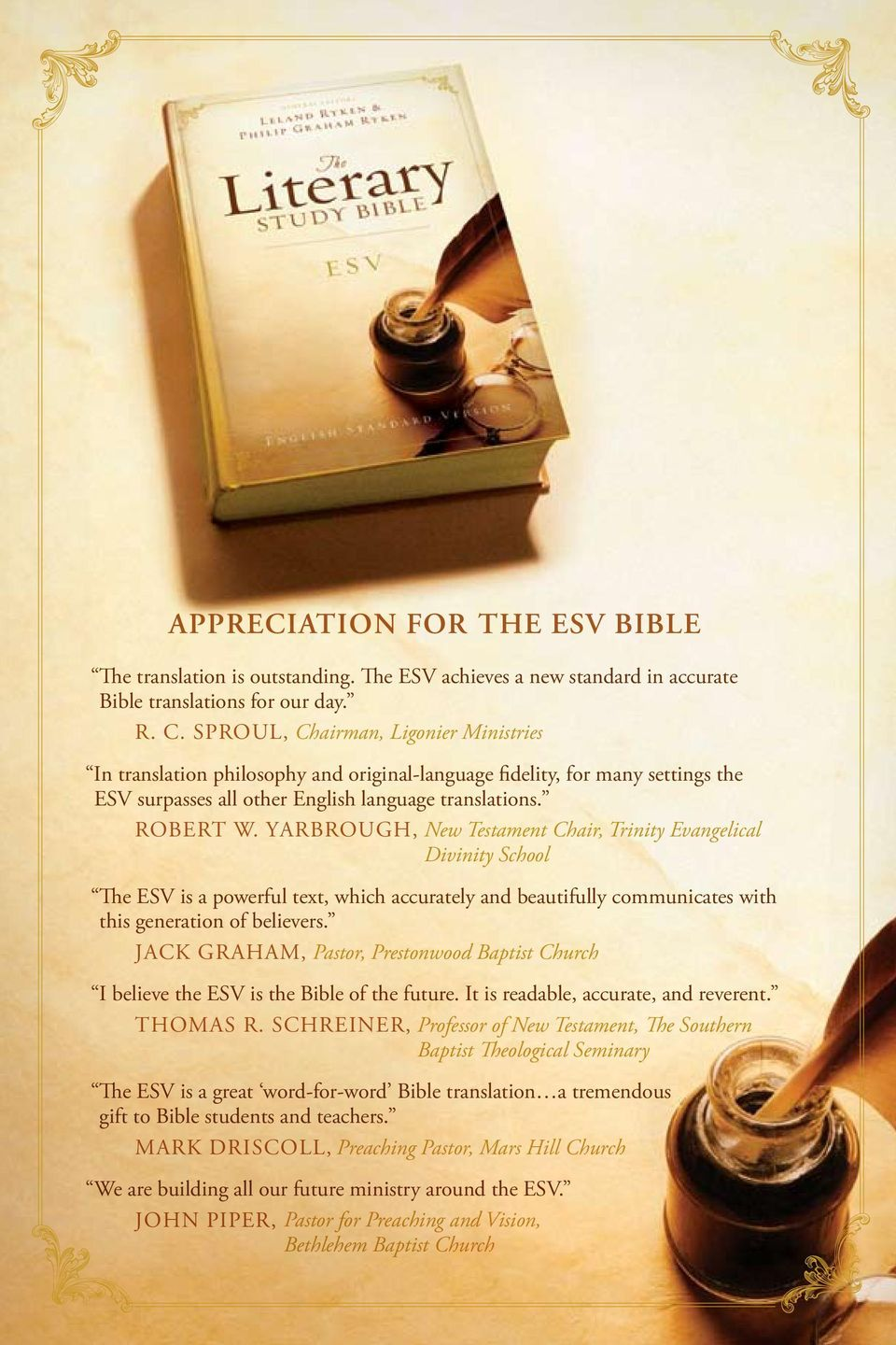 ESV Literary Study Bible (2007, Hardcover) English Standard Version