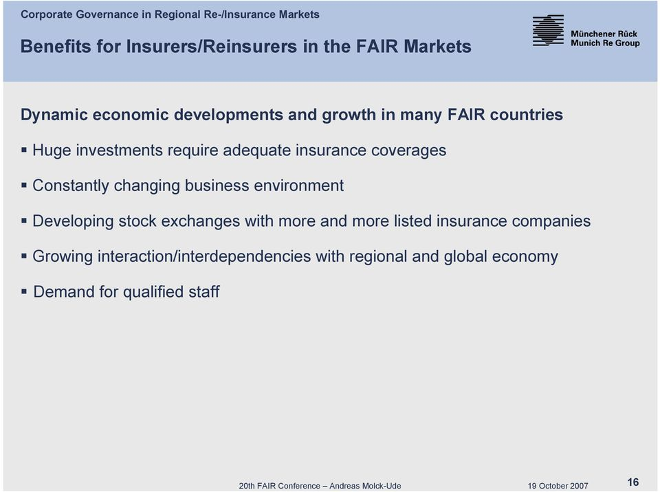 business environment Developing stock exchanges with more and more listed insurance companies