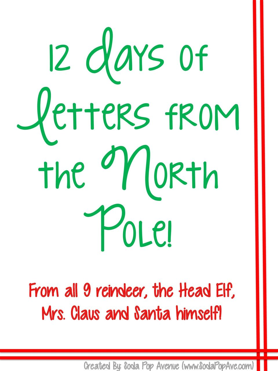 com) 12 Days of Letters from the North