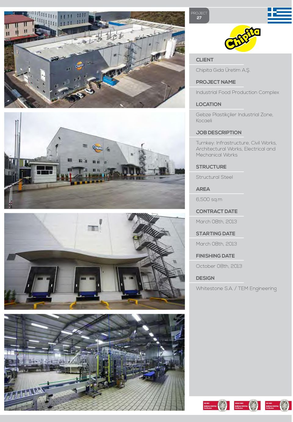 Industrial Zone, Kocaeli Mechanical Works Structural Steel