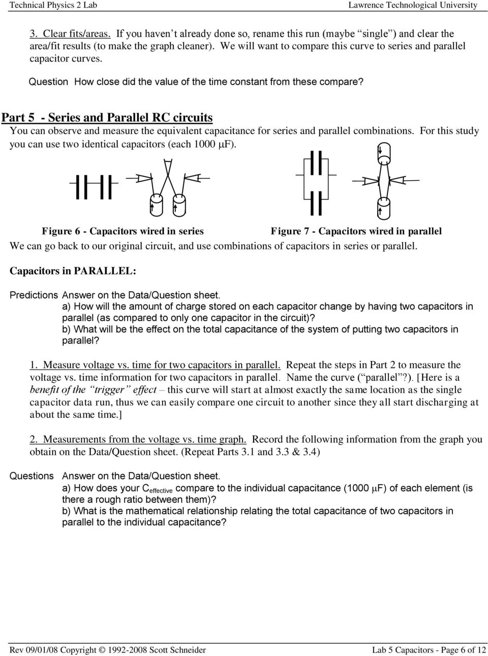 capacitance and rc circuits 2010-2-10 develop a number of new concepts in analyzing electronic circuits capacitance  chapter 3: capacitors, inductors, and complex impedance - 20 - a simple rc circuit.