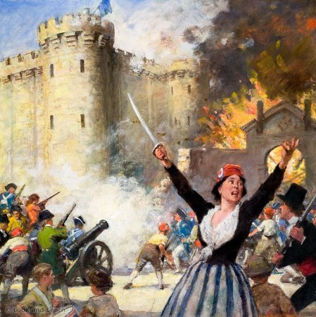 NOTES FRENCH REVOLUTION.notebook October 13, 2014 The event that marks the beginning of the revolution was when members of the 3rd Estate stormed a prison in France.