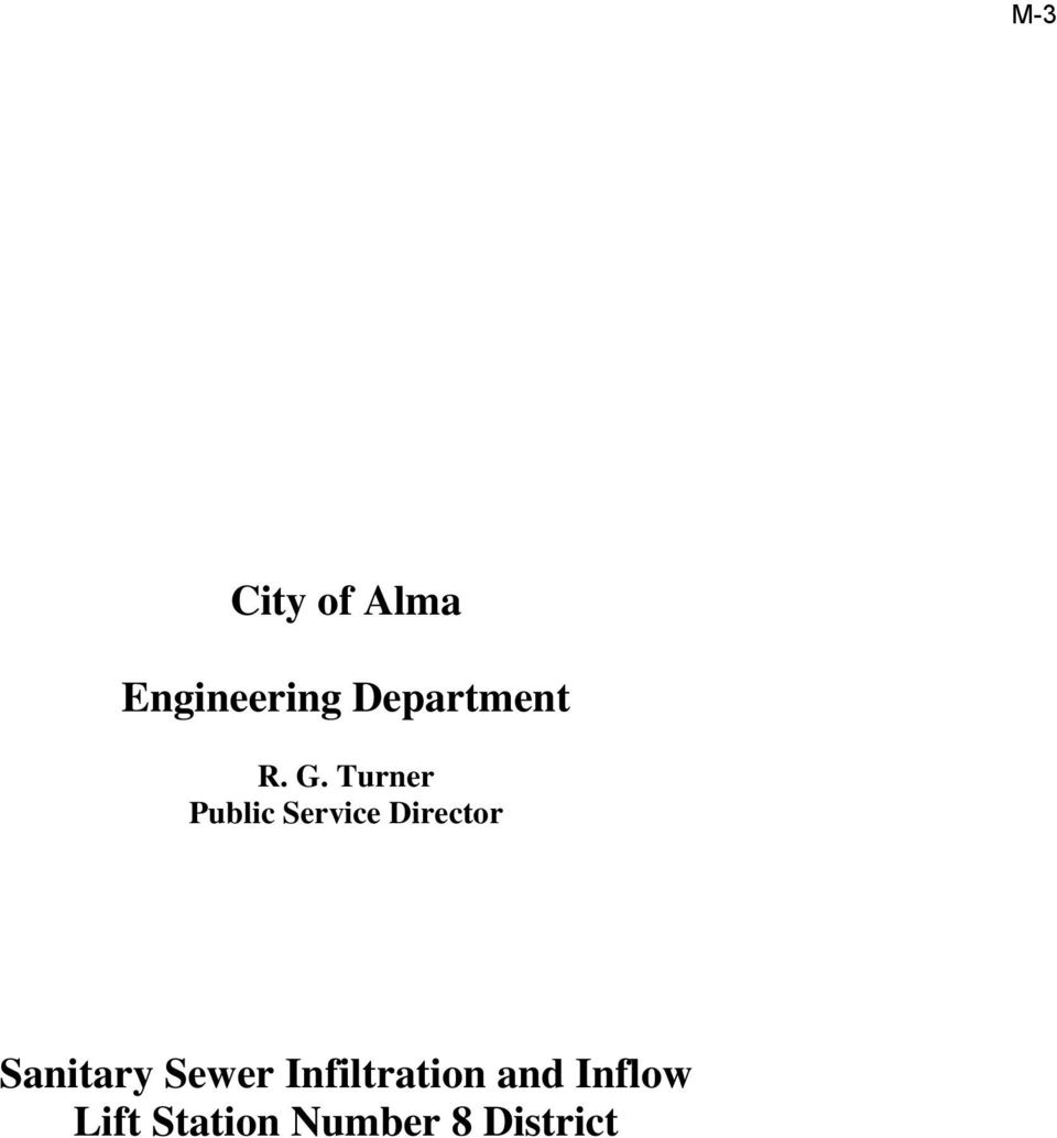 Director Sanitary Sewer