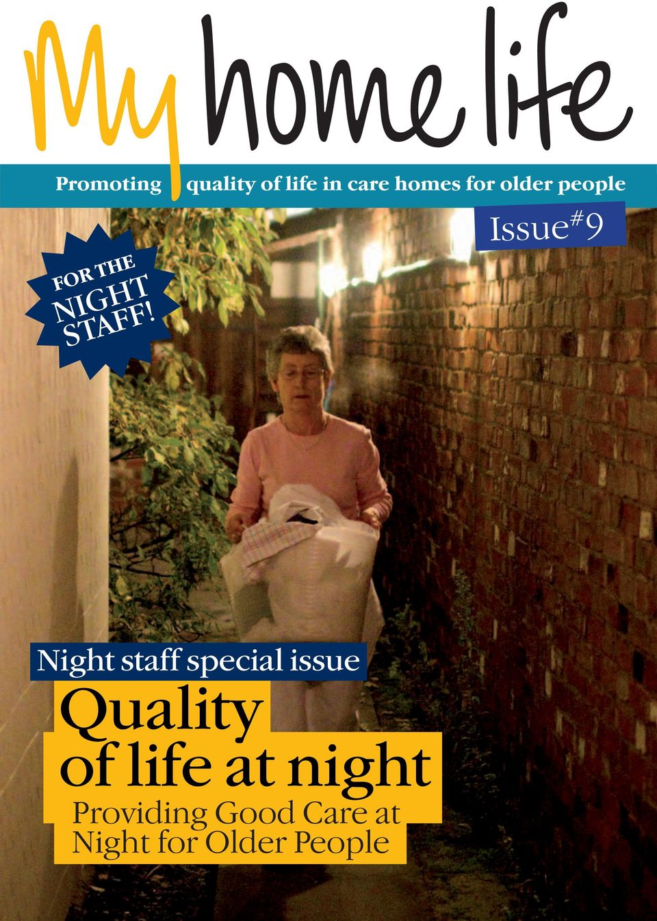 people Issue # 9 Night staff special issue