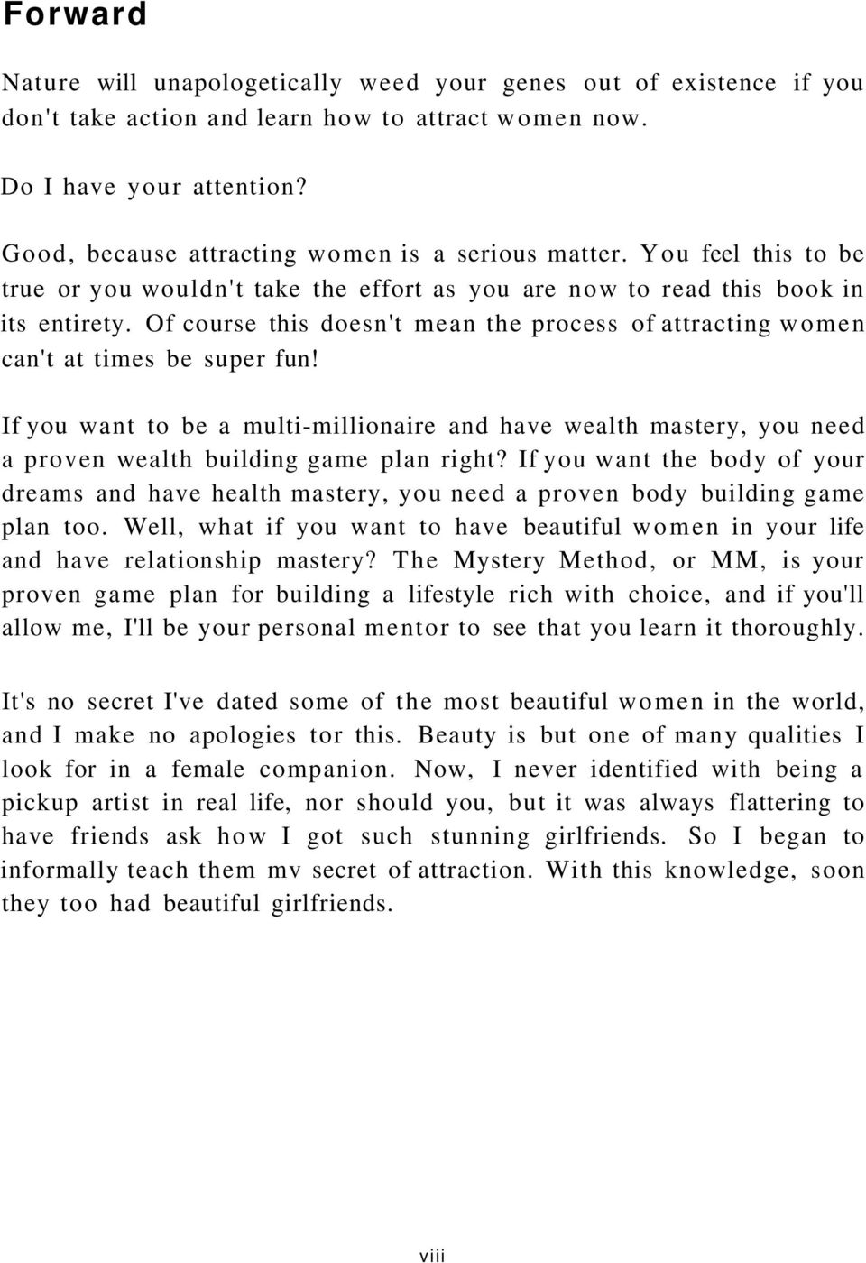 The mystery method the venusian arts handbook 2 nd edition how to of course this doesnt mean the process of attracting women cant at fandeluxe Image collections