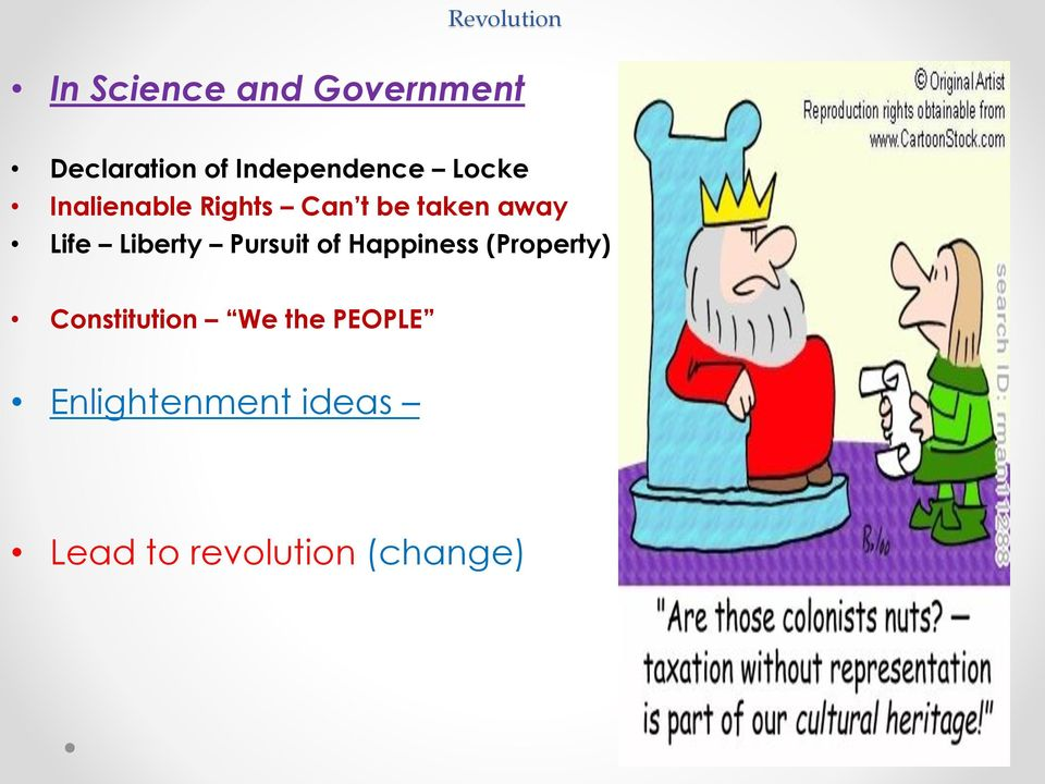 Life Liberty Pursuit of Happiness (Property) Constitution