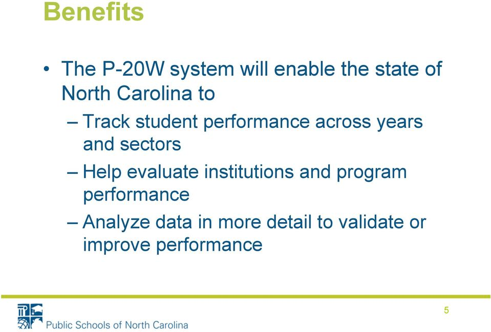 sectors Help evaluate institutions and program performance