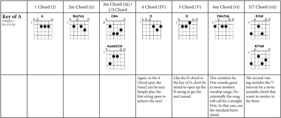 Workshop Go To Chords For The Acoustic Guitarist Plus Capo Cheat