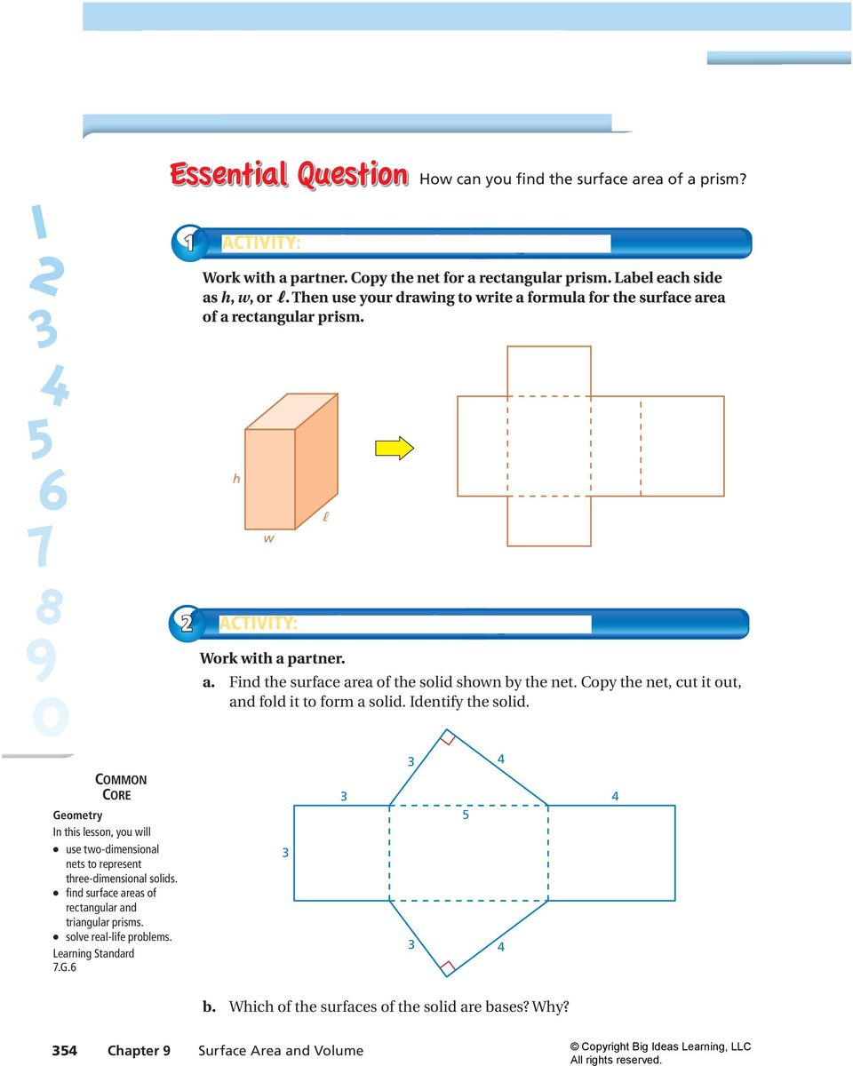 how to work out volume of rectangular prism
