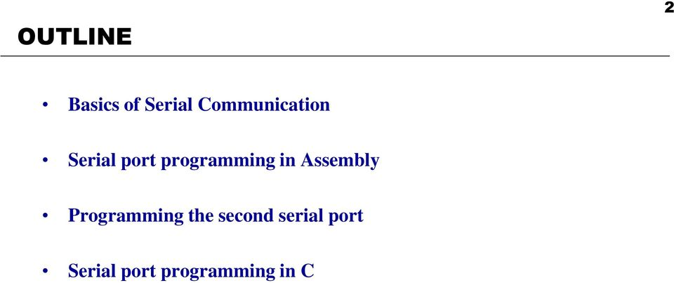 programming in Assembly