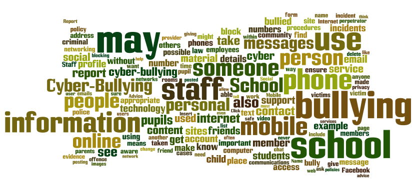 Cyber-Bullying, the Internet, Social Media and Schools