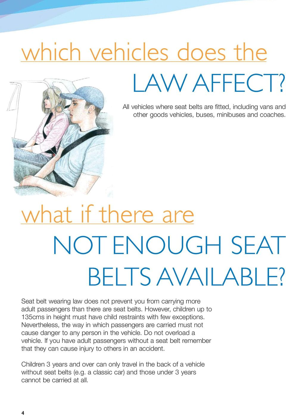 can adults have seat belt syndrome