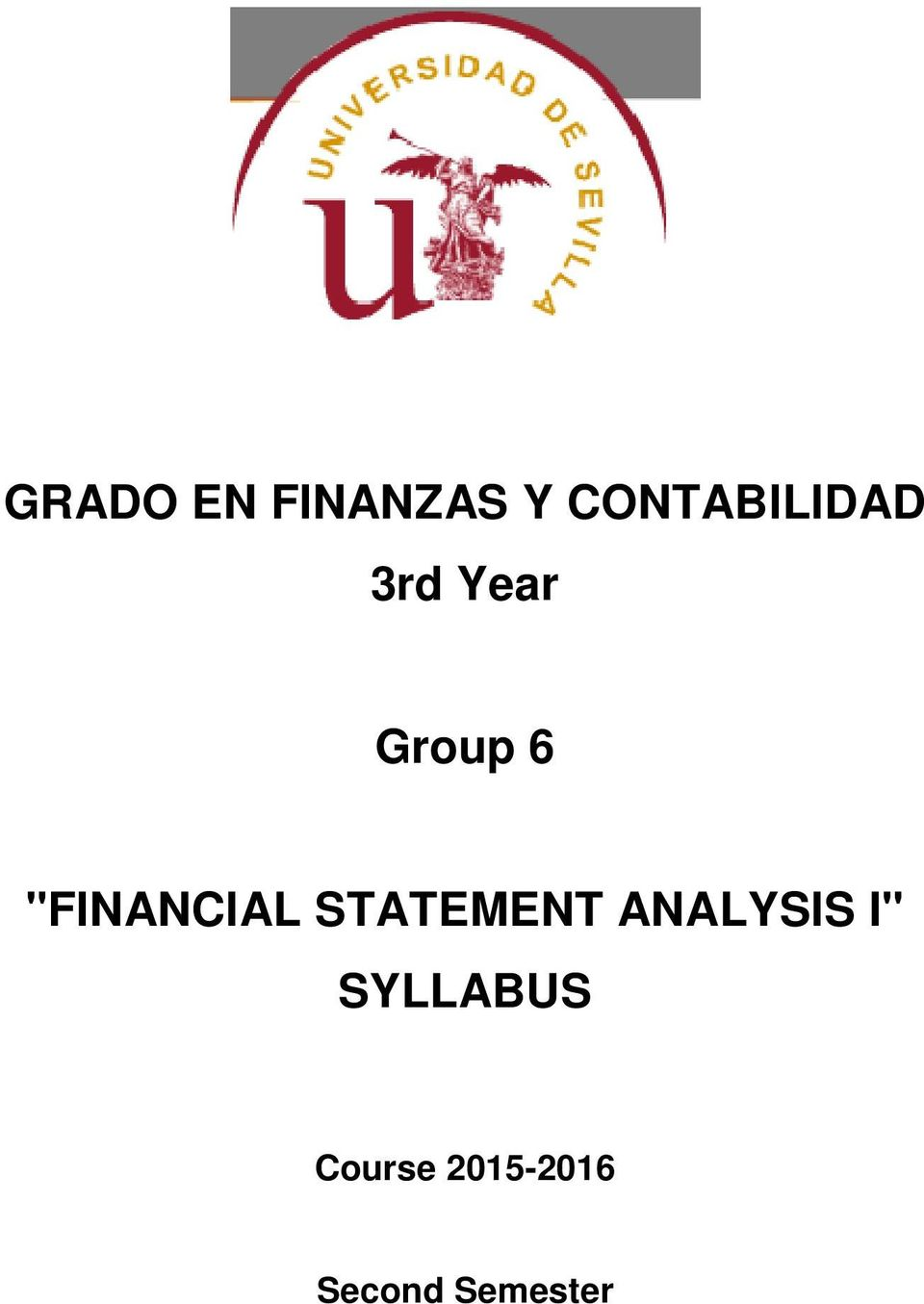 """FINANCIAL STATEMENT ANALYSIS"