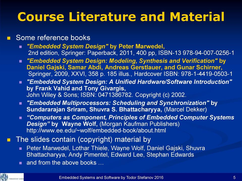 Embedded System Design A Unified Hardware Software Approach Pdf