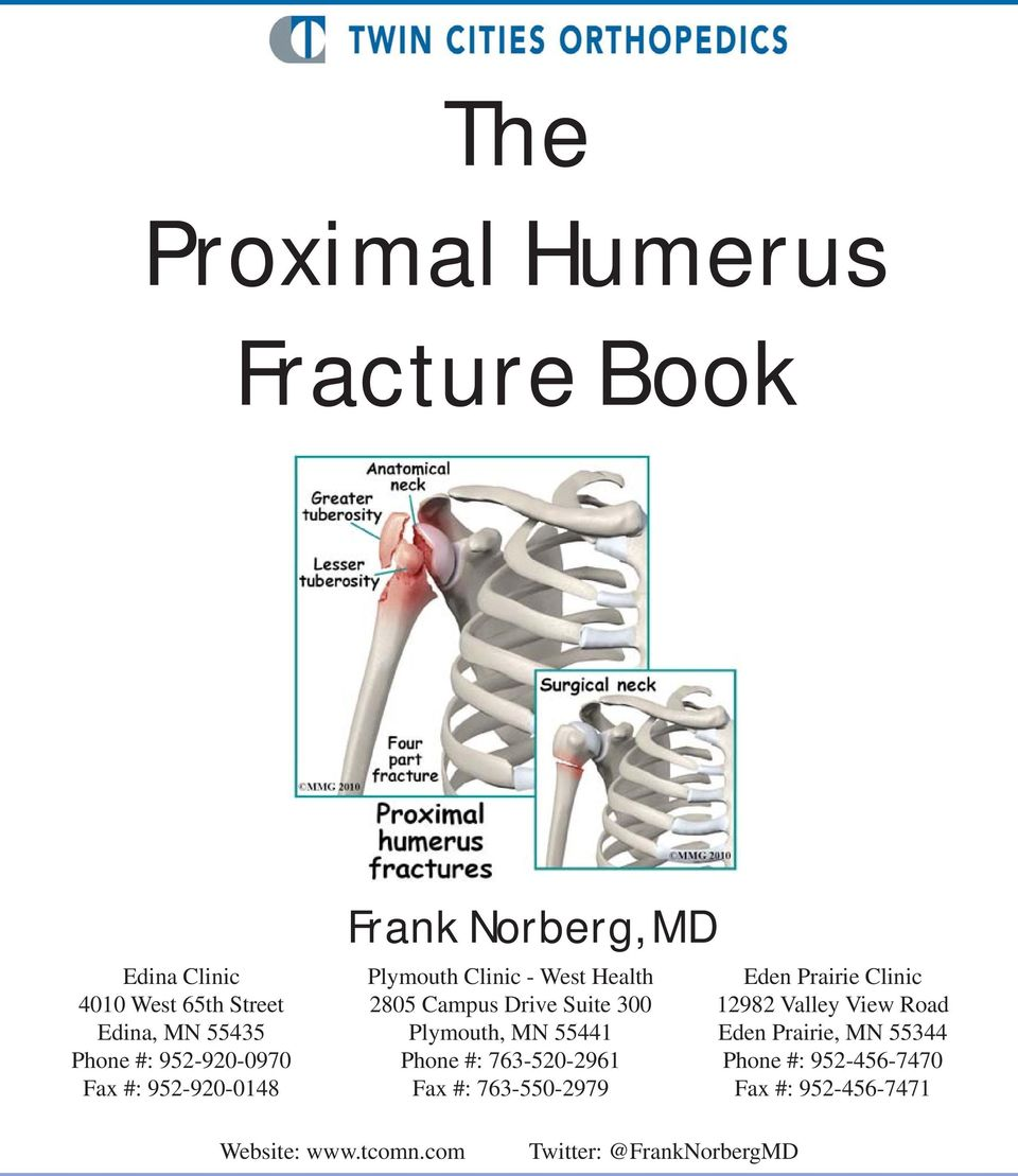 The Proximal Humerus Fracture Book - PDF