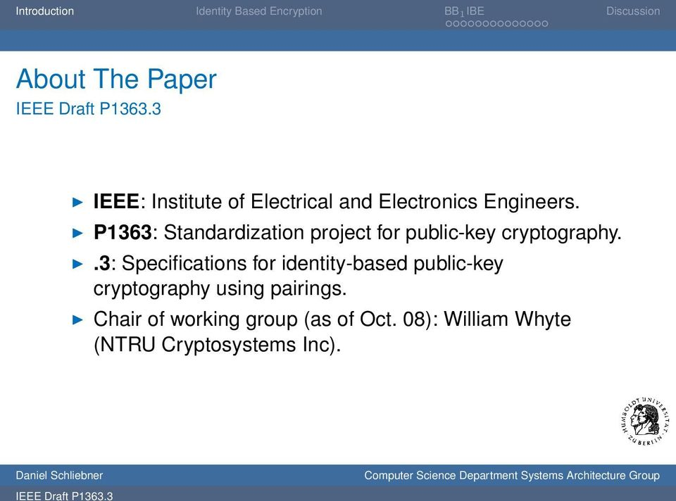 .3: Specifications for identity-based public-key cryptography using