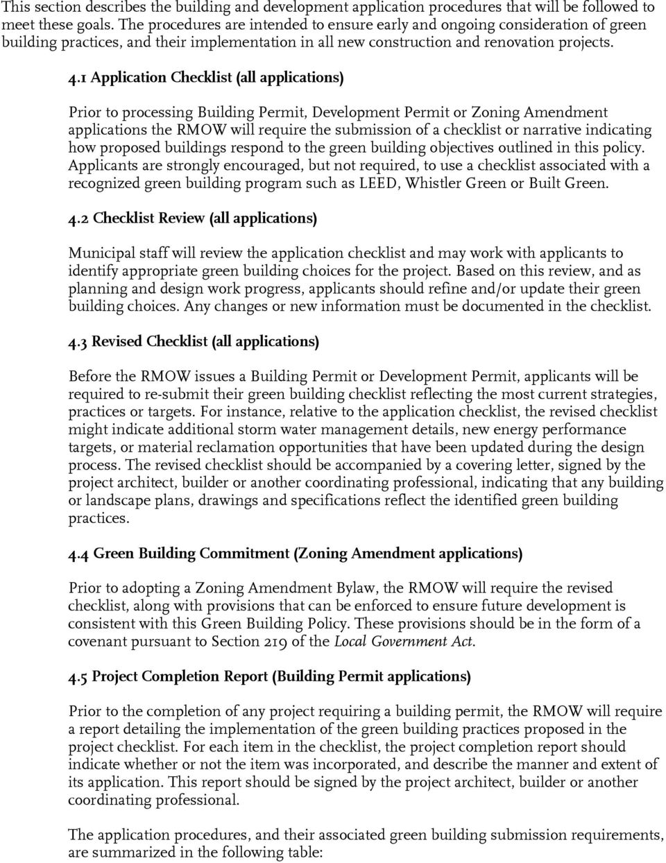 Council policy green building policy pdf for Build it green checklist