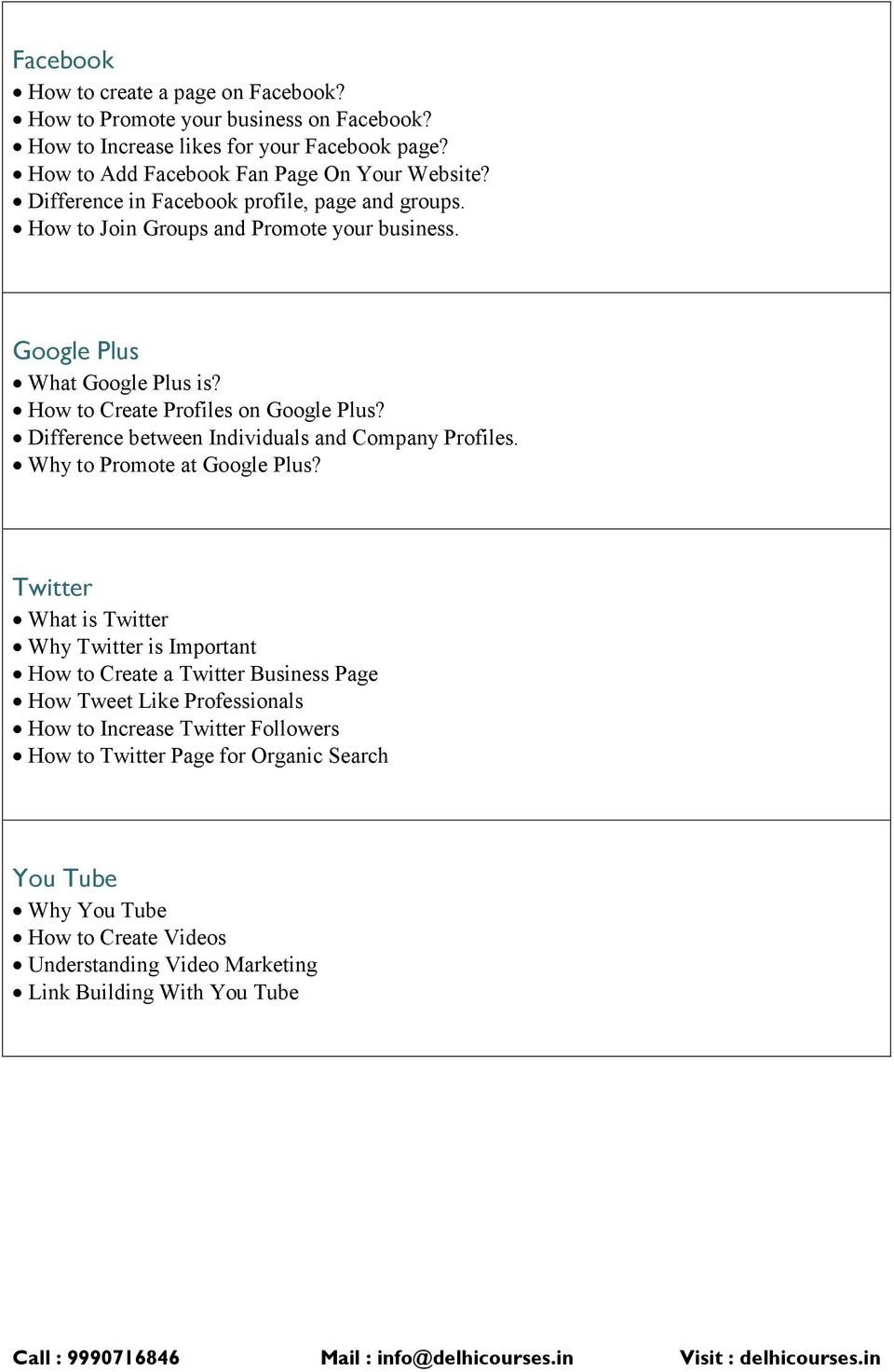 Difference between Individuals and Company Profiles. Why to Promote at Google Plus?