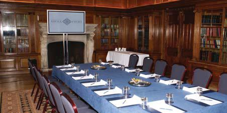 Meeting Rooms The Library The Library at Savill Court Hotel & Spa offers elegance and grandeur for business meetings and fine dining.