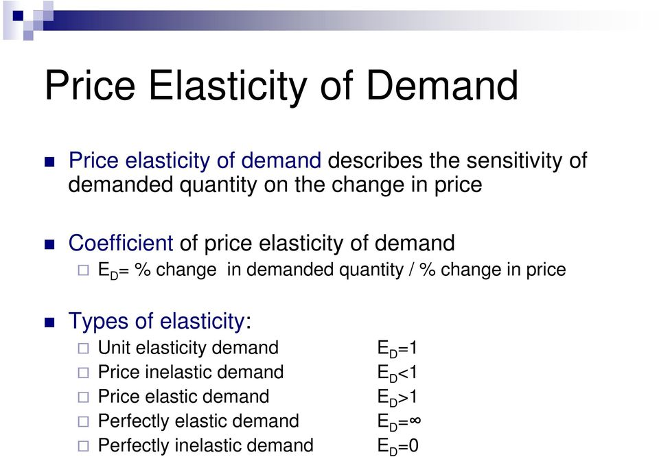 elasticity of demand and market structures Usually these kinds of products are readily available in the market and a person may not necessarily need them in his or her daily life, or if there are good substitutes with the following equation we can calculate income demand elasticity.
