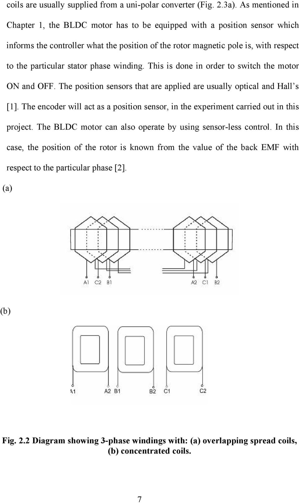 Thesis on bldc motor control