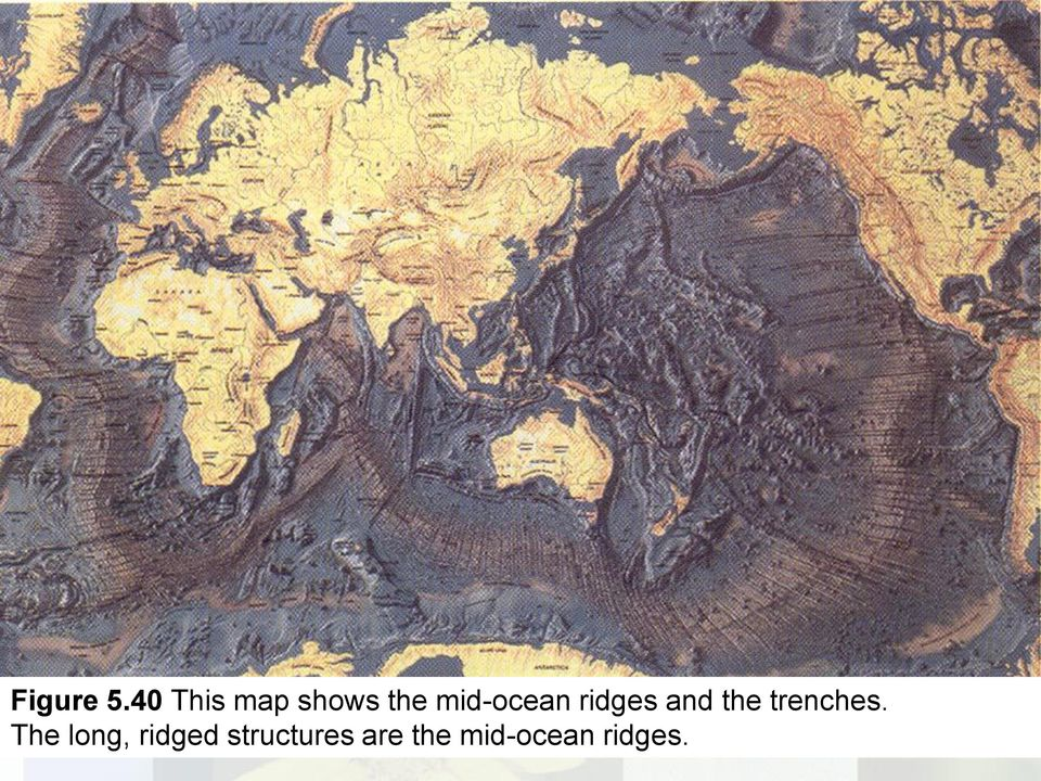 mid-ocean ridges and the
