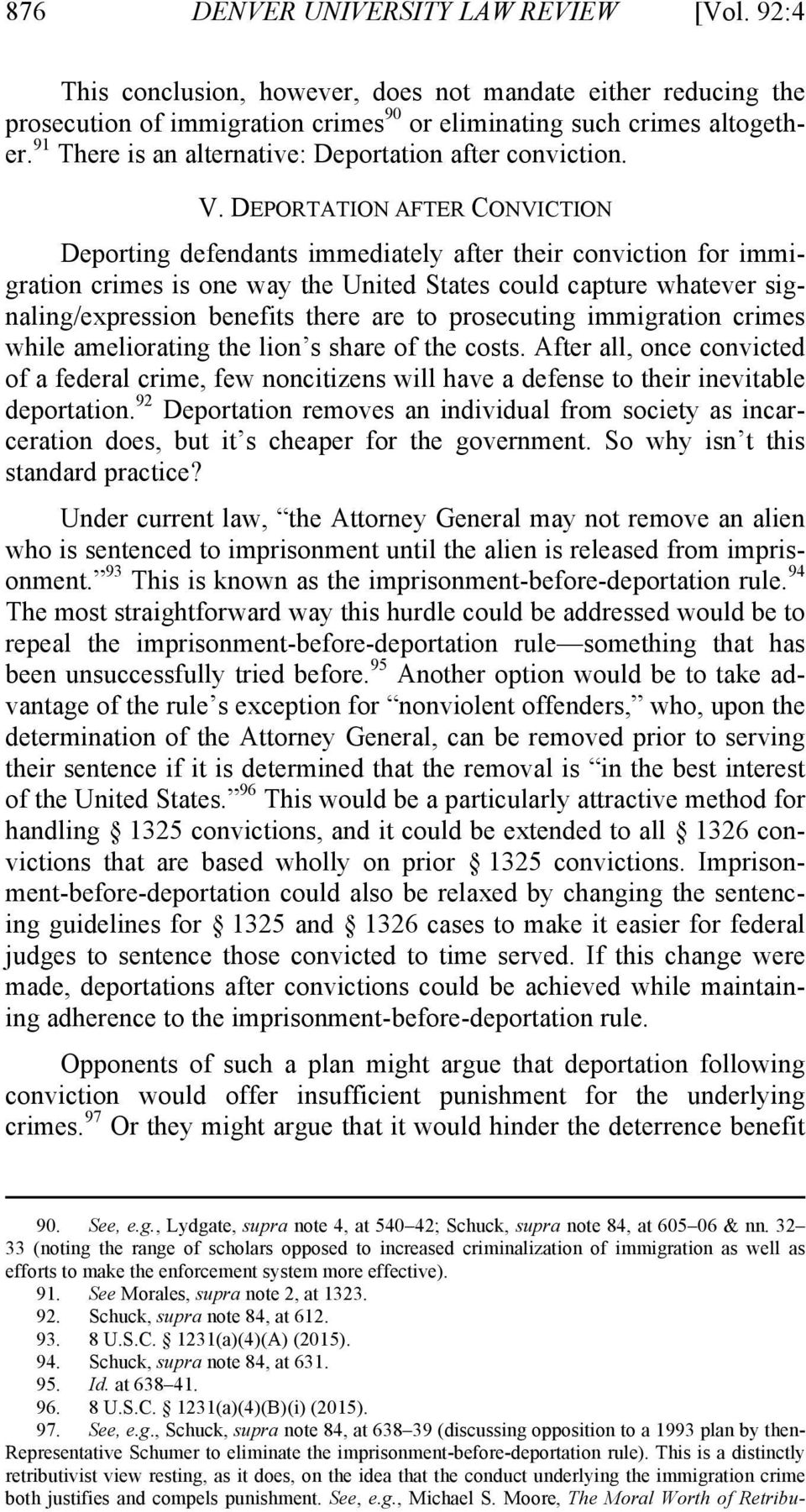 An analysis of federal convictions