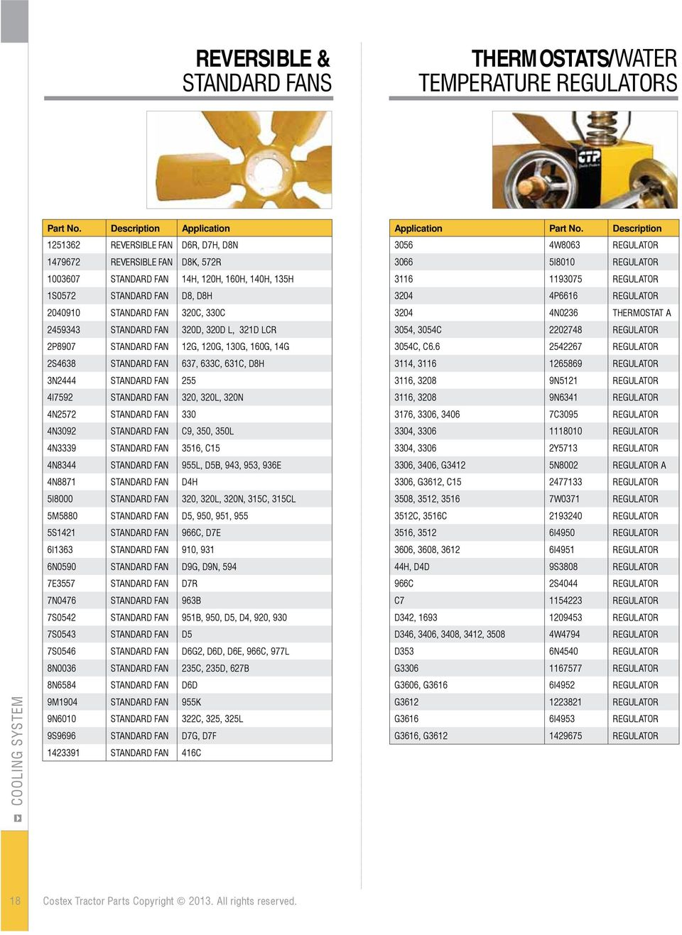 QUALITY REPLACEMENT PARTS FOR YOUR CATERPILLAR EQUIPMENT - PDF