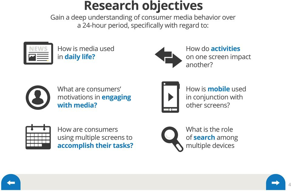 What are consumers motivations in engaging with media?