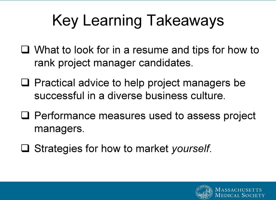 Practical advice to help project managers be successful in a diverse