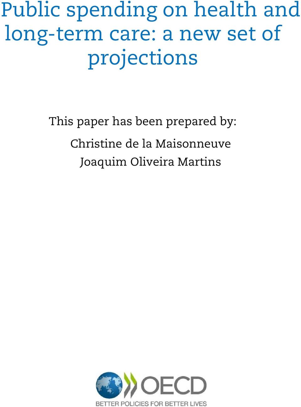 projections This paper has been