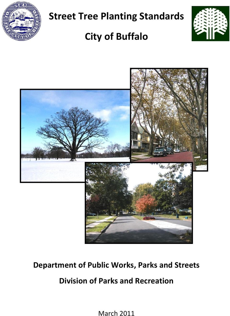 Public Works, Parks and Streets