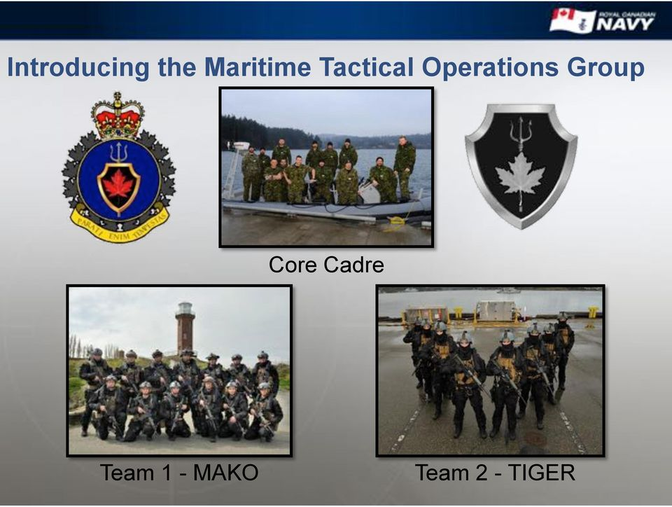 Operations Group Core