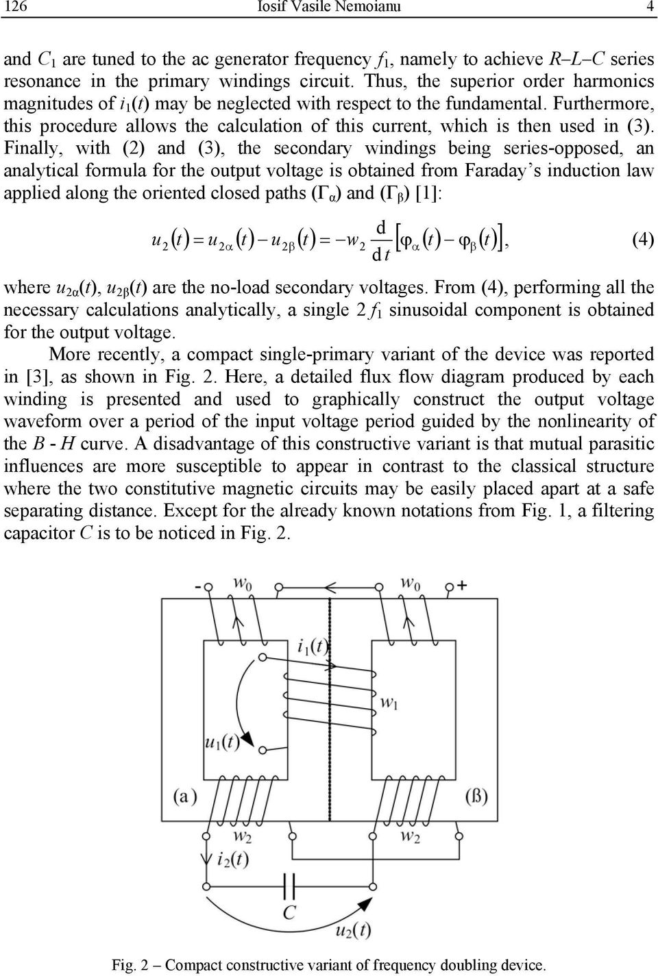 Study Of The Voltage Frequency Doubler With Nonlinear Iron Core A Effect For Electric Guitar Furthermore This Procedure Allows Calculation Current Which Is Then Used In