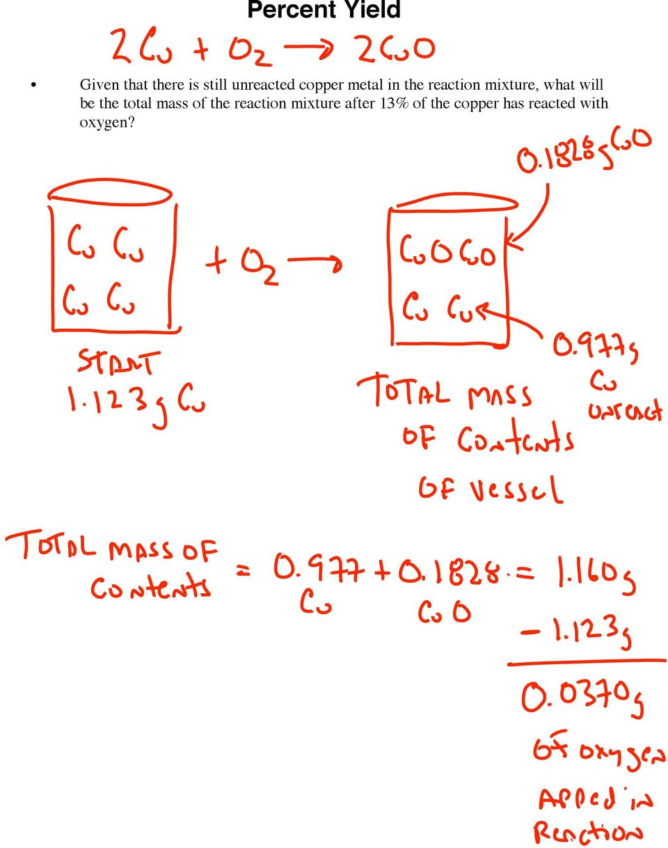 mixture, what will be the total mass of the