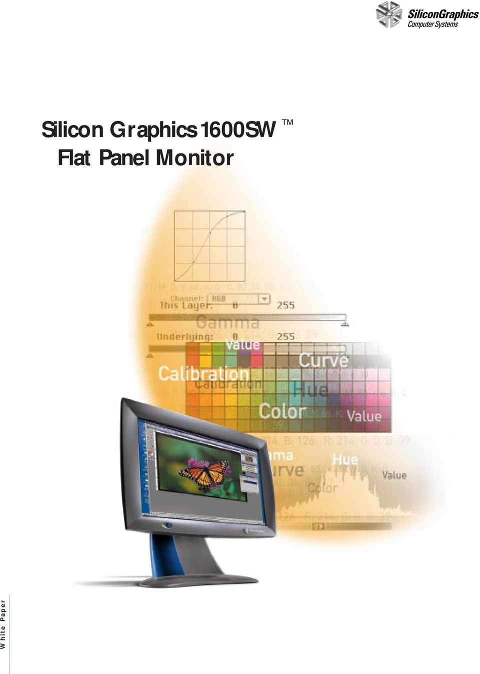 White Paper Silicon Graphics 1600sw Flat Panel Monitor Pdf Polarizer 17 Inch Polarized Lcd Screen Liquid Crystal Display Construction Chemistry Cell Substrates With Patterned Electrodes Molecular Alignment Layers