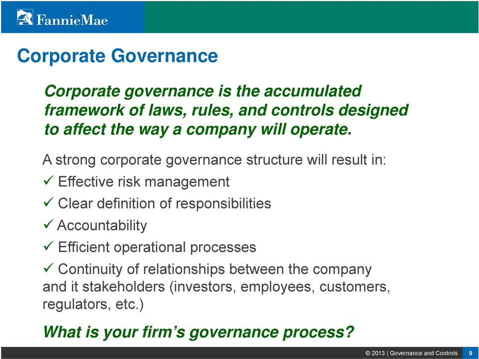 "the definition and role of corporate governance An ""independent"" director is a director who meets the nasdaq stock market llc (""nasdaq"") definition of independence, as determined by the board the board makes an affirmative determination regarding the independence of each director annually, based upon the consideration of the factors set forth in the nasdaq listing standards the nominating & corporate governance."