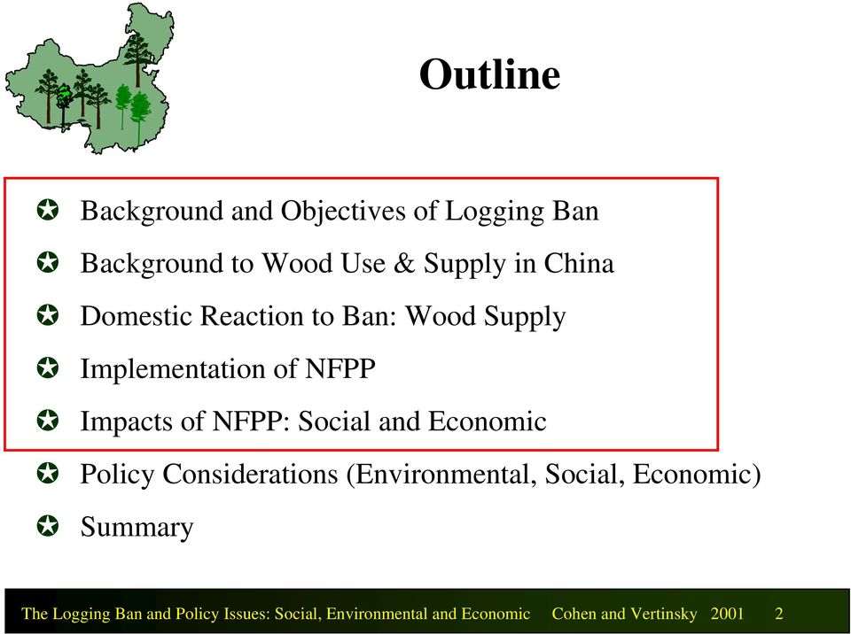 Social and Economic Policy Considerations (Environmental, Social, Economic) Summary