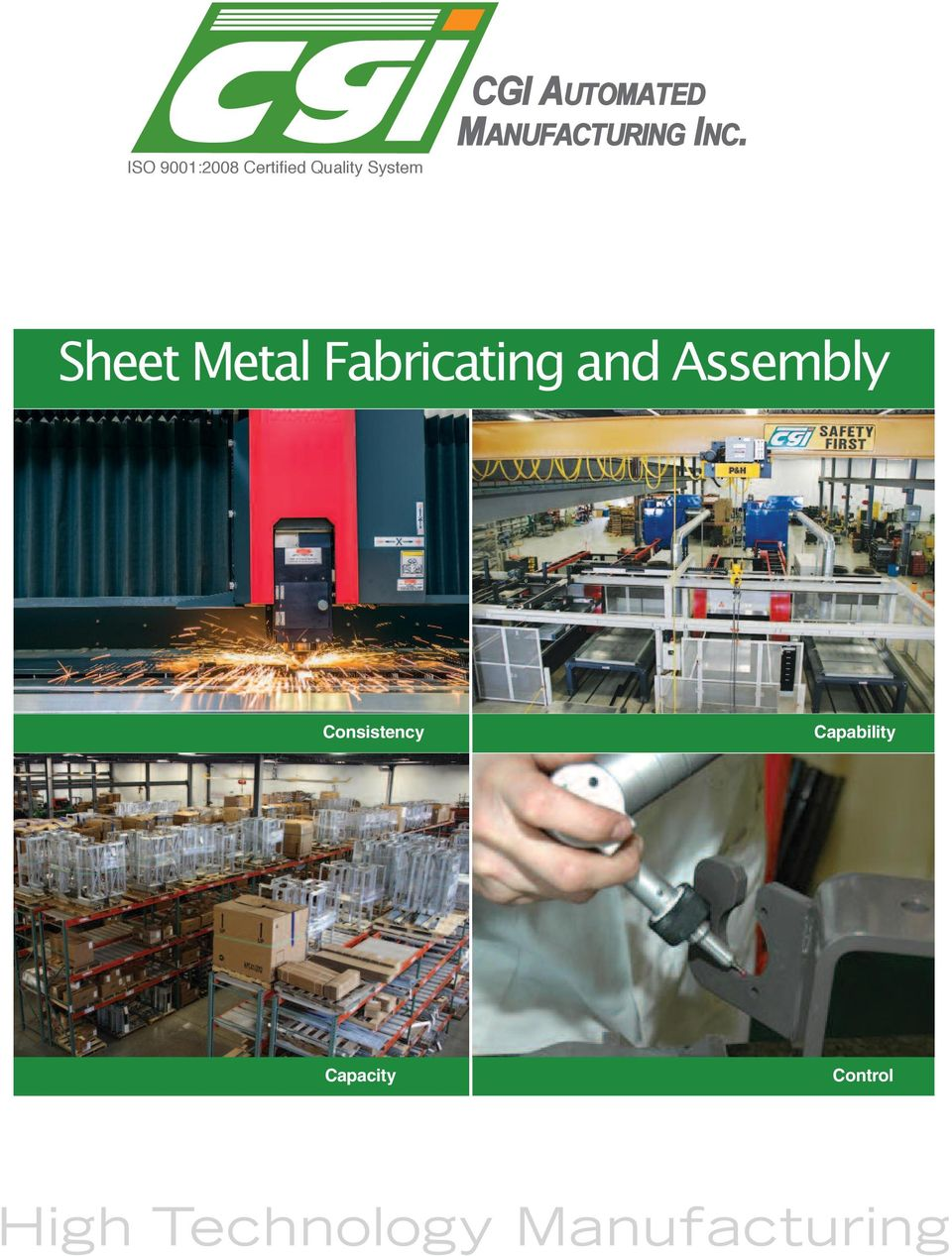 Sheet Metal Fabricating and Assembly Consistency