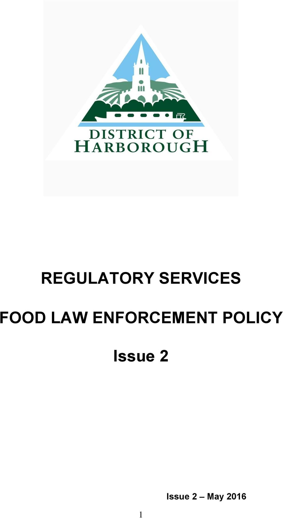 ENFORCEMENT POLICY