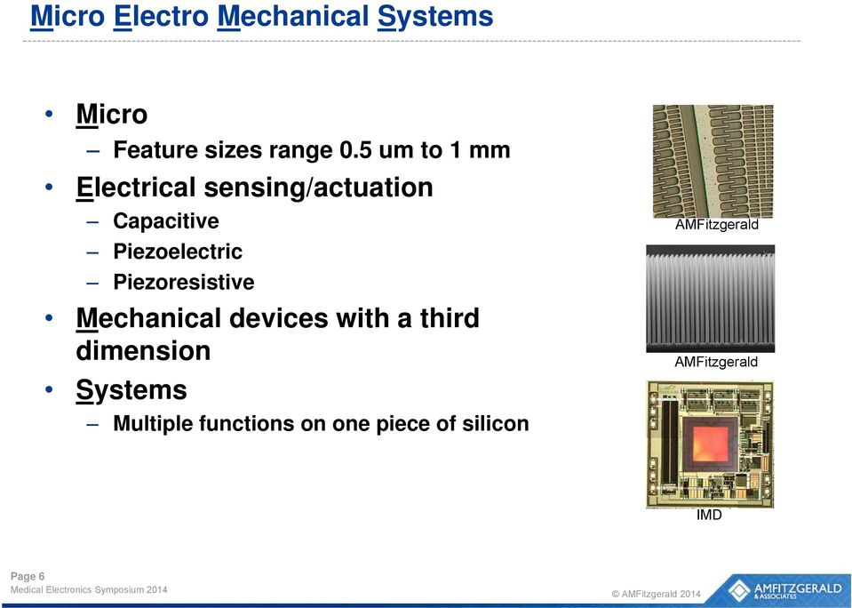 Piezoresistive Mechanical devices with a third dimension Systems