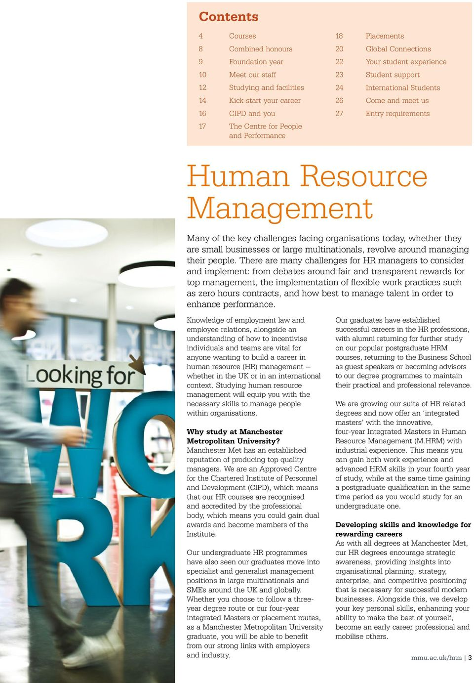Human Resources some college